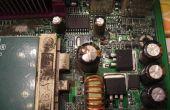 Comment faire pour réparer les condensateurs sur les cartes mères d'ordinateur et autres appareils électroniques.