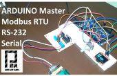 Modbus RTU maître avec Arduino via RS232