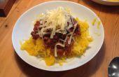 Super faible teneur en glucides, sans gluten, végétalien Spaghetti bolognaise