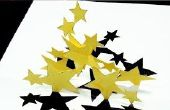 Comment faire des carte de voeux de Stars de Dancing Stars Pop Up Card (Kirigami 3D) !