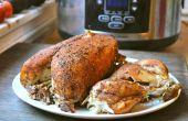 Faire cuire un poulet entier dans une mijoteuse