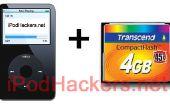 Convertissez votre 5ème Gen iPod vidéo à utiliser la mémoire Flash !
