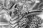 Dessin au crayon ent et Dragon