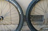 Conversion de pneu de vélo tubeless