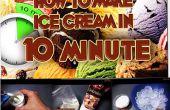 Comment faire la crème glacée dans 10 minutes