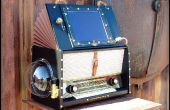 Steampunk Jukebox du Pirate dirigeable