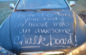 Transformez votre capot de voiture rouillé en un tableau impressionnant !
