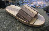Sandales de bois