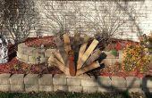 Recyclé bois palettes Thanksgiving Turquie décoration
