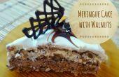 Gâteau de meringue aux noix
