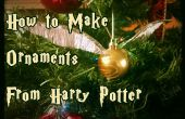 Comment faire des ornements de Harry Potter