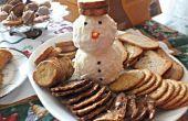 Crème fromage Frosty le bonhomme de neige