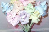 Roses de papier facile