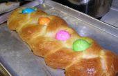 Pain de Pâques tressée italien