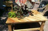 Palette bois de Patio Table