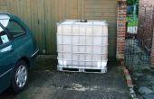 Revêtement d'un réservoir d'eau de 1000 litres/250 gallons IBC