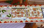 Mosaïque : verre, céramique & Gorilla Glue !