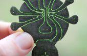 Lilypatch : Laser rapide Coupe Circuit douce évasion