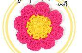 Comment crocheter une fleur de huit pétales (#1 - petit)