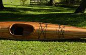 Construction d'un Kayak de bande de cèdre