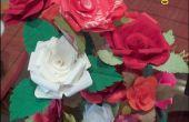 Roses en tissu amidonné pour votre Saint-Valentin !