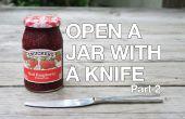 Ouvrir un bocal coincé avec un couteau PT. 2