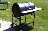 Construire votre propre Texas Grill (barbecue de tambour de 55 gallons)