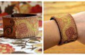 Faire un Bracelet en cuir de la manchette d'une vieille ceinture