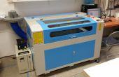 Introduction à de la MakerSpace SLO 100 watts Laser Cutter et graveur