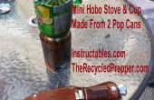Poêle mini Hobo et coupe libre recyclé survie