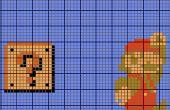 Modèle de point de croix dans photoshop (avec symboles!)