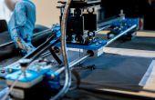 Faire un traceur de pliage qui imprime des Circuits sur les Textiles