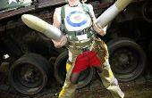 Épique séance de Tank Girl Cosplay/Photo