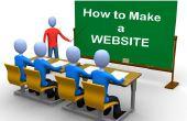 Comment créer votre propre site gratuitement en utilisant le site Web libre constructeurs