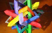 Les maths et l'Art de l'Origami - Comment faire des Wireframes géométrique