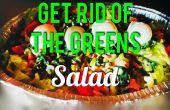 Se débarrasser de la salade verts !