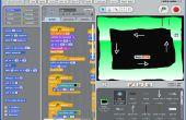 Fabrication de graphiques pour un jeu de course Scratch