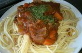 Spaghetti de paresseux