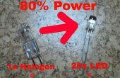 Convertir votre lampe de bureau halogène dans une lampe à LED