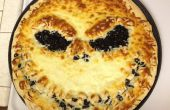 Jack Skellington Pizza