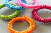 DIY crocheté anneaux