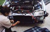 Retirer la prise d'Air Stock Honda CRX & résonateur