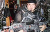 Costumes d'Halloween en carton et armes Gears of style de guerre