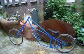 Vélo de chopper Lowrider, fait de vieux vélos
