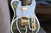 Créez un autocollant 3D Steampunk guitare