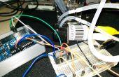 Commande de pompe péristaltique avec TA7291P et un Arduino