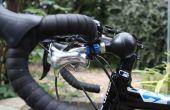 Fixation d'un klaxon de vélo avec Sugru