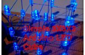Simple 3 x 3 x 3 LED Cube avec Arduino