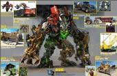 Knex Transformers Devastator partie 1.5