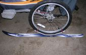 Kit de Ski Ski pour remorque vélo Chariot